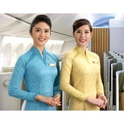 Mẫu đồng phục tiếp viên hàng không đẹp