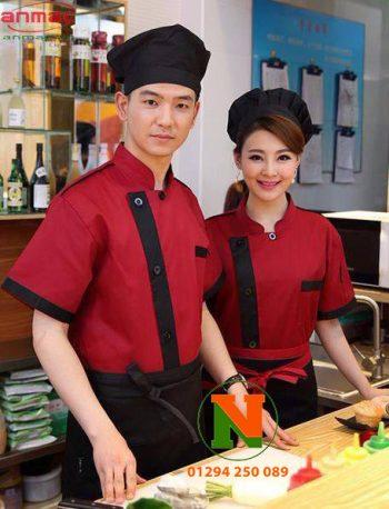 Đồng phục bếp 006