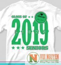 Mẫu áo thun đồng phục trẻ trung 2019 Mã AT036