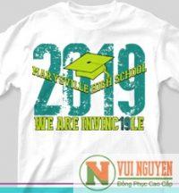 Mẫu áo thun đồng phục trẻ trung 2019 Mã AT055