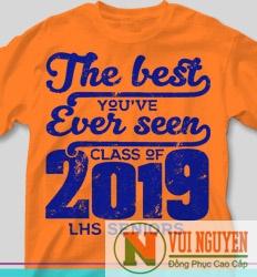 Mẫu áo thun đồng phục trẻ trung 2019 Mã AT006