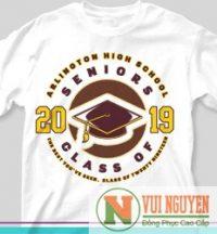 Mẫu áo thun đồng phục trẻ trung 2019 Mã AT061