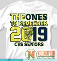 Mẫu áo thun đồng phục trẻ trung 2019 Mã AT008